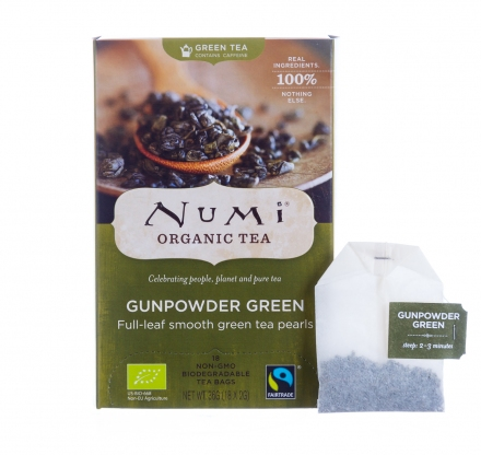 Bio gunpowder zöld tea
