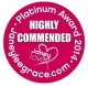 Janey Lee Grace Platinum Awards - Highly recommended 2014