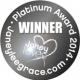 Janey Lee Grace Platinum Awards Winner 2014