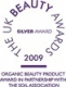 UK beauty awards 2009