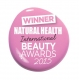 Natural Health Magazine Beauty Awards  Winner 2015