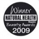 Natural Health Beauty Award winner 2009